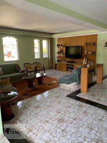 Imagem 1 de 18 de Imob01 - Sobrado 390 M² - Venda - 5 Dormitórios - 5 Suítes - São Bernardo Do Campo/sp - So0312