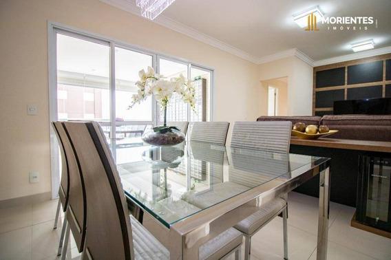 Apartamento Com 3 Dormitórios À Venda, 108 M² Por R$ 745.000 - Vittá Condomínio Clube - Jardim Ana Maria - Jundiaí/sp - Ap0227