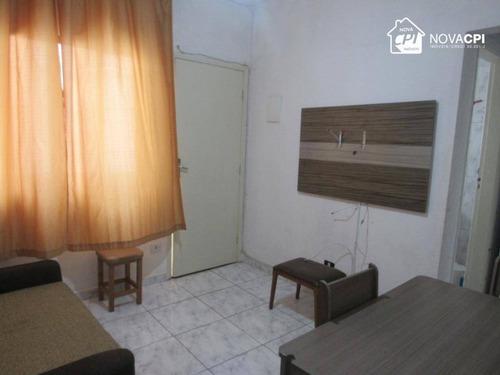 Apartamento À Venda, 35 M² Por R$ 138.000,00 - Vila Guilhermina - Praia Grande/sp - Ap9225