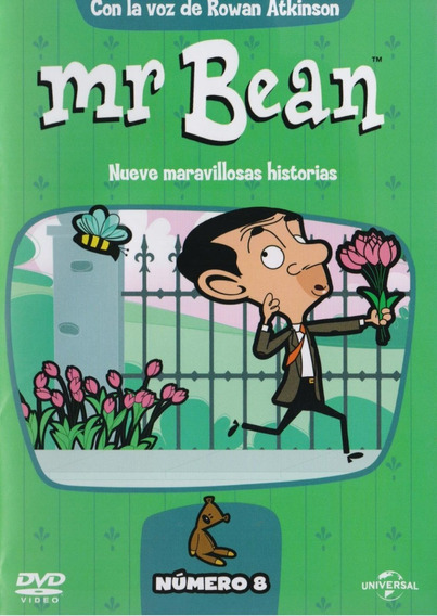 Mr Bean 9 Nueve Maravillosas Aventuras Numero 8 Ocho Dvd