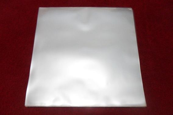 100 Plásticos P/ Capa De Lp Disco Vinil Externos 0,20 Grosso