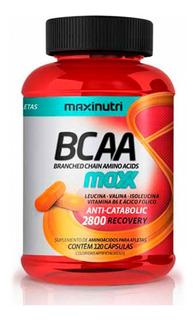 Bcaa Maxx 2800 700mg 120 Cápsulas Maxinutri - Anticatabólico