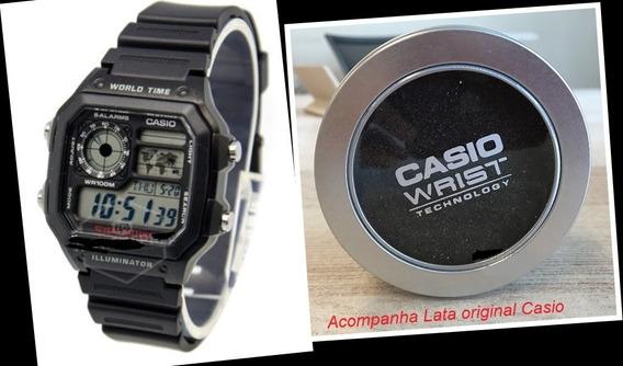 Relógio Esportivo Casio Standard Digital Watch Ae1200wh