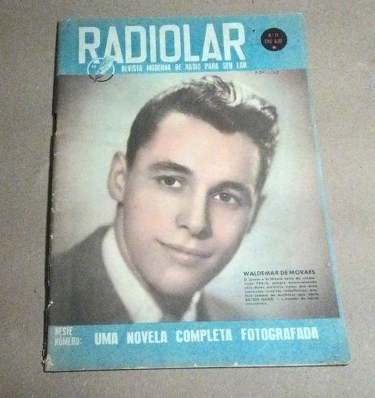 Revista Radiolar 1951 Rádio São Paulo Anselmo Duarte