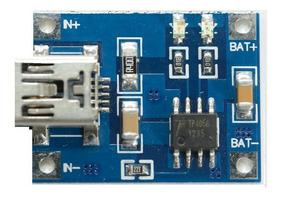 10 X Micro Usb Carregador Bateria Litio 1a 5v Tp4056 Carta