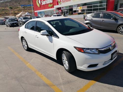 Imagen 1 de 5 de Honda Civic 2012 Dmt Ex Sedan At