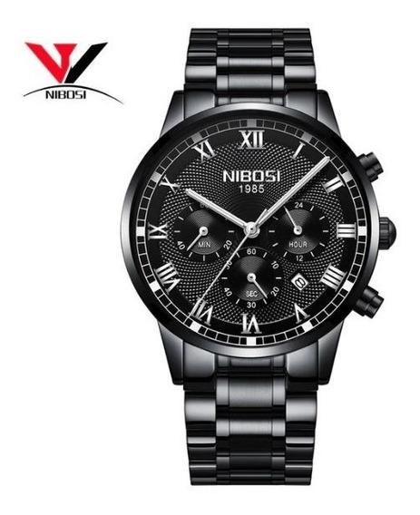 Relógio Nibosi 5 Un. Lançamento 2018 Promoção Dos Pais