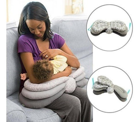 M 46 - Almofada Amamentação - Importada -regulável Infantino