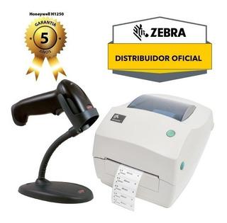Impresora Etiquetas Zebra Gc 420t Y Lector Honeywell 1250g