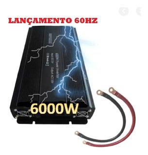 Inversor 6000w 12v 110v 60hz Senoidal Lucky Amazonia Urânio