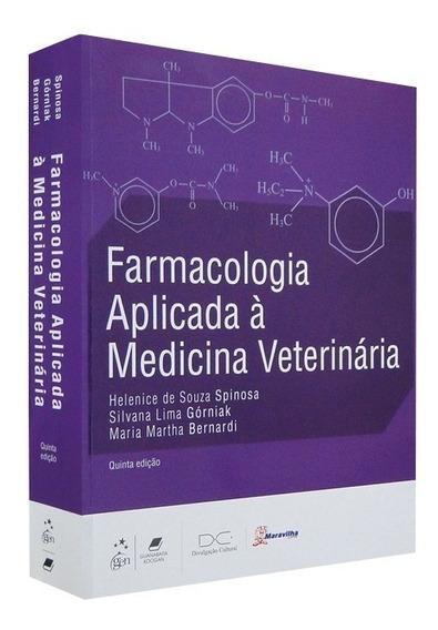 Livro Farmacologia Aplicada Medicina Veterinária