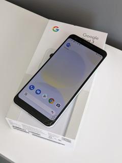 Google Pixel 3 - White - 128gb - Unlocked - Navidad