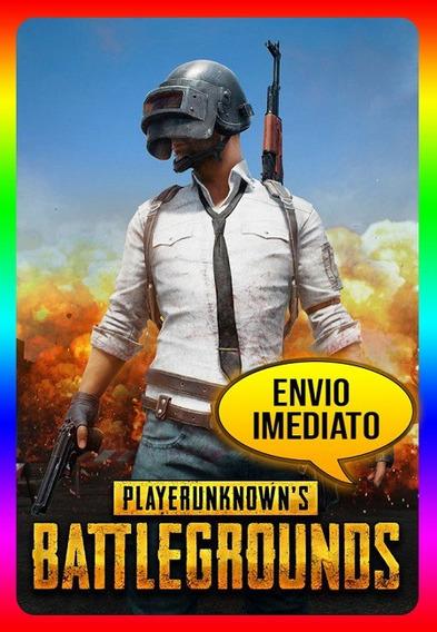 Playerunknowns Battlegrounds Pc - Steam Key (envio Já)