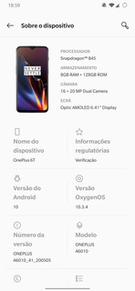 Oneplus 6t 128/8gb