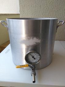 Panela Cervejeira N32 - 23 Litros Resistência Completa