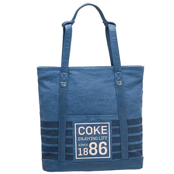 Bolsa Totebag Cola Cola Navy 811115 - Pcf Global