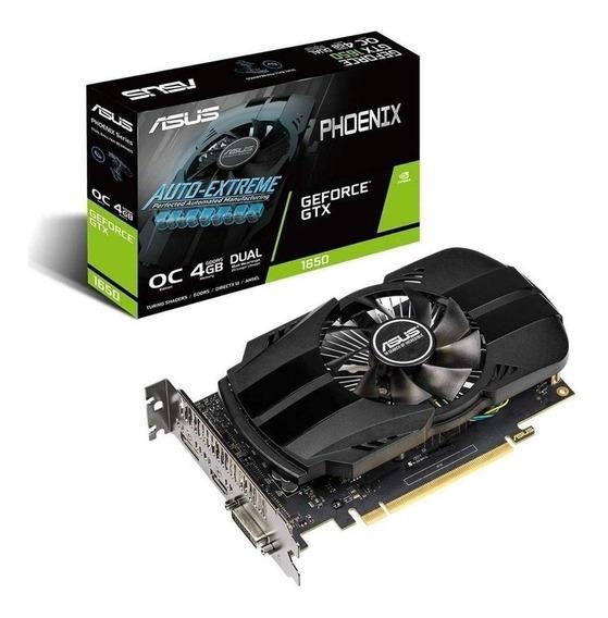 Placa de vídeo Nvidia Asus GeForce GTX 16 Series GTX 1650 PH-GTX1650-O4G OC Edition 4GB