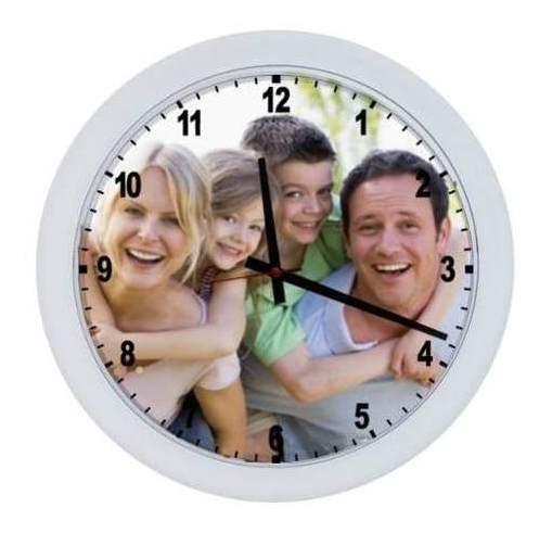 Relógio Personalizado Com Foto (grande 25x25)