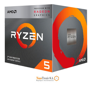 Amd Ryzen 5 3400g Gaming 3.7ghz - 4.2ghz 4 Core Core I5