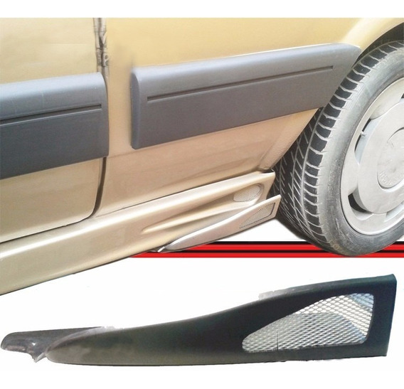 Spoiler Lateral Flap Aerodinâmico Carro Sport Tuning C/ Tela