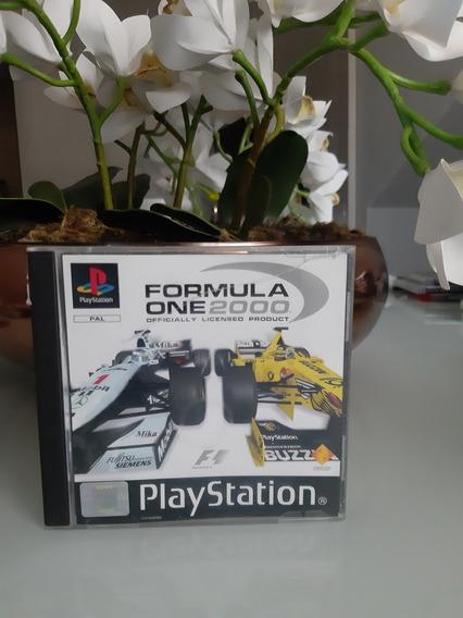 F1 2000 Ps1 Original Pal Europeu