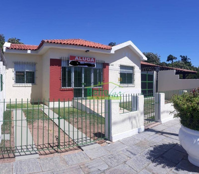 Linda Casa Comercial Com 5 Salas Para Alugar, 180 M² Por R$ 6.000/mês - Carmo - Olinda/pe - Ca0147