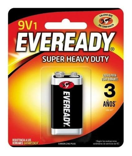 Imagen 1 de 1 de Pack 12 Batería 9v Eveready Extra Duración / Superstore