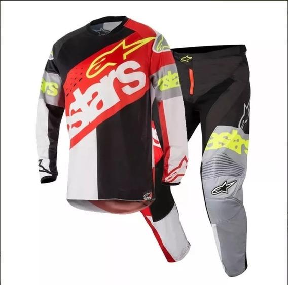 Equipo Motocross Enduro Alpinestars Racer Maldonado Motos