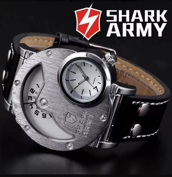 Relogio Masculino Shark Army Militar Original