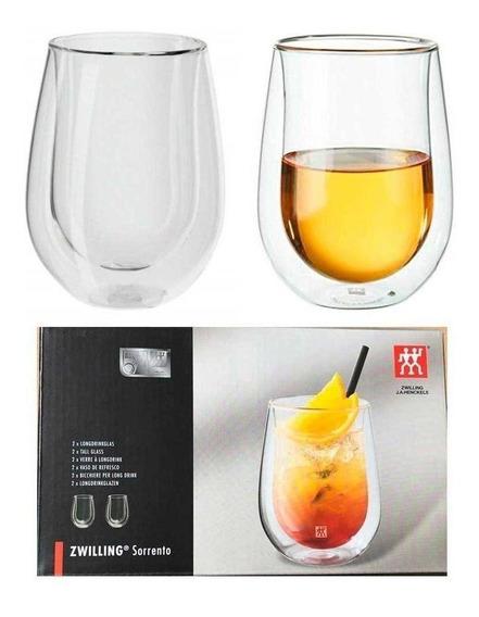2 Copos Para Drinks Sucos Vinho Agua 296ml Sorrento Zwilling