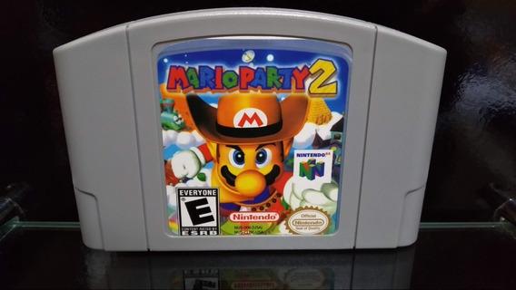 Fita / Cartucho Mario Party 2 Nintendo 64 N64 Salvando