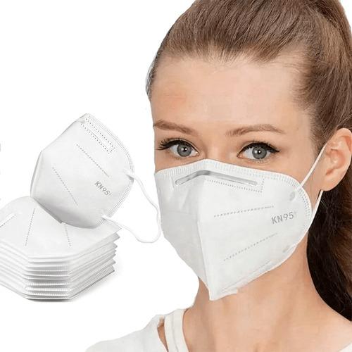Kit 10 Máscaras N95 Proteção Respirtória Pff2 4 Camadas Full