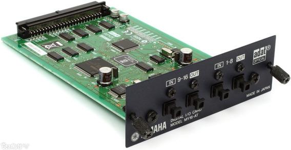 Placa De Expansão Card My16at Yamaha Para Console Digital!