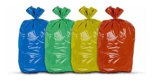 Saco Para Lixo 100l Colorido C/100 (0,07)