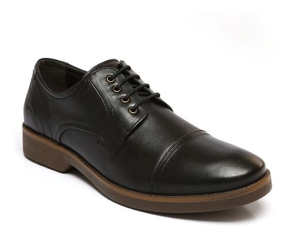 Sapato Democrata Couro Smith Preto 176101001