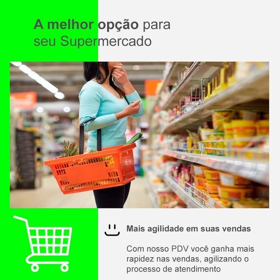 Sistema Venda, Pdv, Estoque Para Supermercados - Pag. Mensal