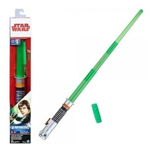 Luke Skywalker Lightsaber Hasbro Star Wars Luz Sonido