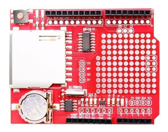 Data Logger Shield Ds1307 Para Arduino