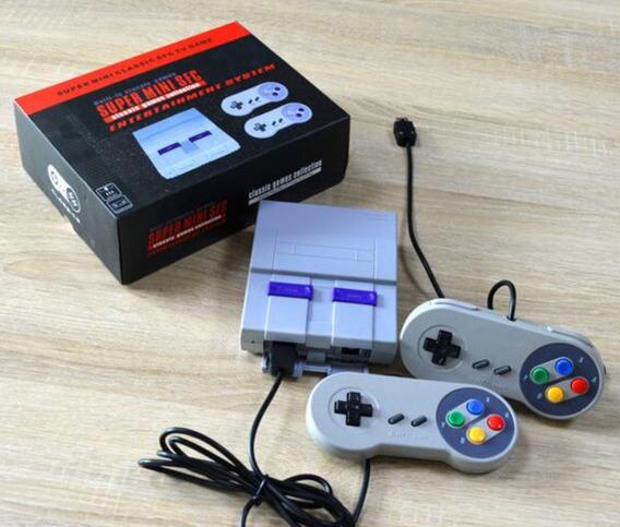 Video Game Mini Sfc 16 Bit Mario E Companhia Estilo Nintendo