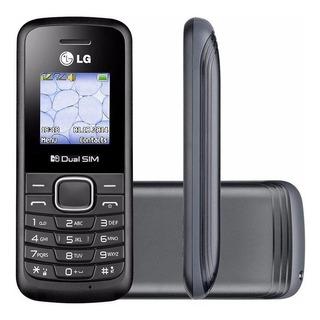 Celular Lg B220 Dual Chip Rádio Fm Viva-voz Lanterna Alarme
