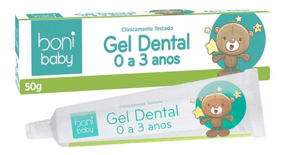 Gel Dental Sem Flúor Baby Personagens 50g Boni Classy
