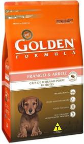 Ração Golden Formula Cães Filhotes Mini Bits Frango 10kg