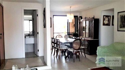 Apartamento Com 4 Dormitórios À Venda, 162 M² Por R$ 1.200.000,00 - Jardim Apipema - Salvador/ba - Ap0603