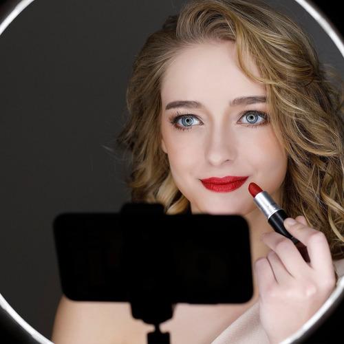 Anillo Luz Led Para Maquillaje Y Fotografia De 18 Pulgadas
