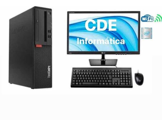 Computador Completo Lenovo I5 6 Geração 4gb Hd 320gb + Wifi