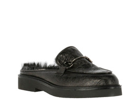 Sueco Hush Puppies Leather Ginger Negro