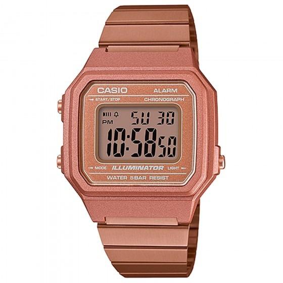Relógio Casio Feminino B650wc-5adf Dourado Rosê - Refinado