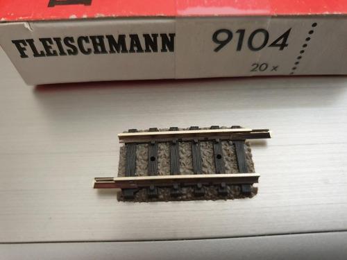 Vìa Recta De Compensaciòn Fleischmann 9104 Escala N