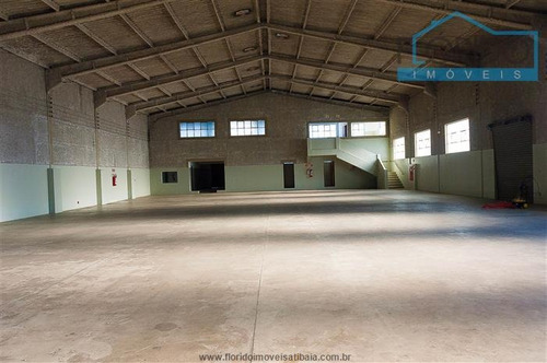 Imagem 1 de 15 de Galpões Industriais Para Alugar  Em Atibaia/sp - Alugue O Seu Galpões Industriais Aqui! - 1443970