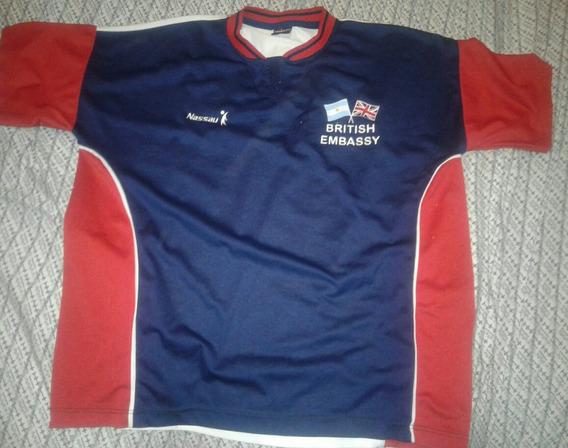 Camiseta Del Equipo De Embajada Británica Bsas Xl
